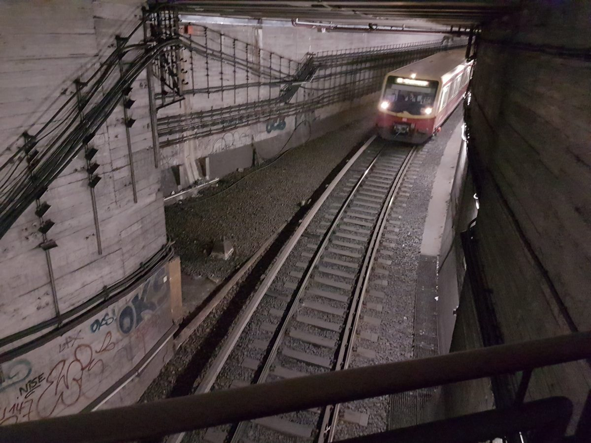 BOS-Funk Nord-Süd-Tunnel S-Bahn Berlin