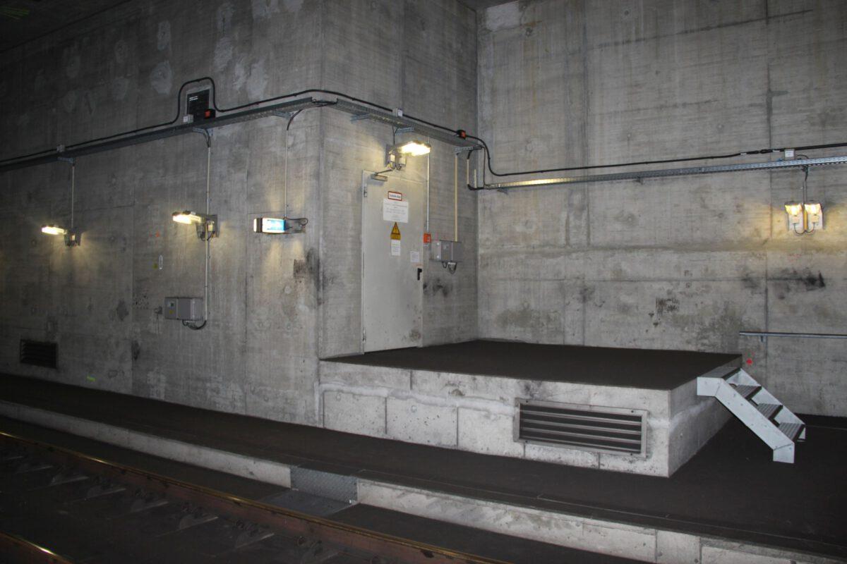 BOS-Funk Nord-Süd-Tunnel F-Bahn Berlin